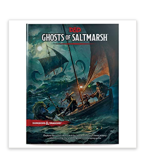D&D Ghosts of Saltmarsh Hardcover Book